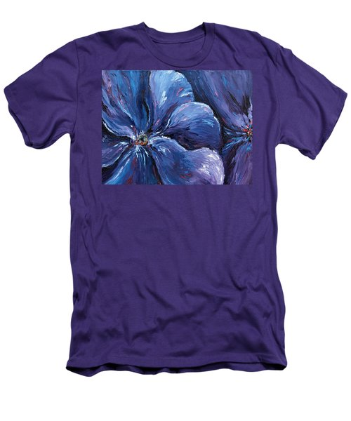 Men's T-Shirt (Slim Fit) featuring the painting Persevering Hope by Meaghan Troup
