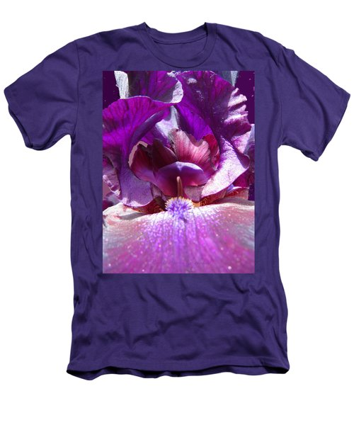 Purple Diva Men's T-Shirt (Athletic Fit)