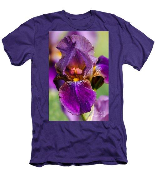 Purple Flag Men's T-Shirt (Athletic Fit)