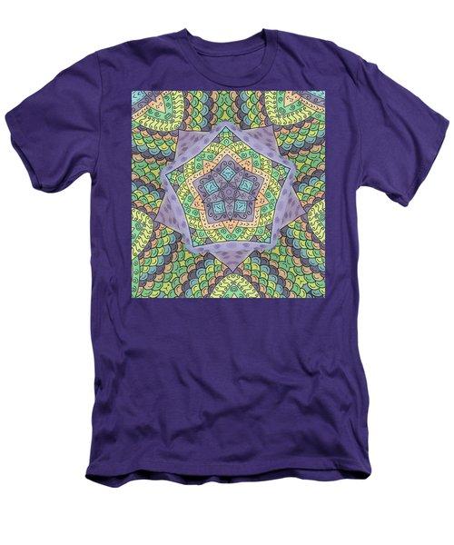 Purple Passion Men's T-Shirt (Slim Fit) by Susie WEBER