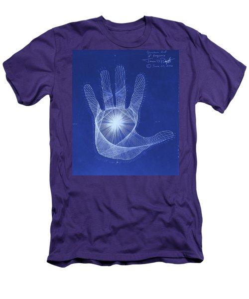 Quantum Hand Through My Eyes Men's T-Shirt (Slim Fit) by Jason Padgett