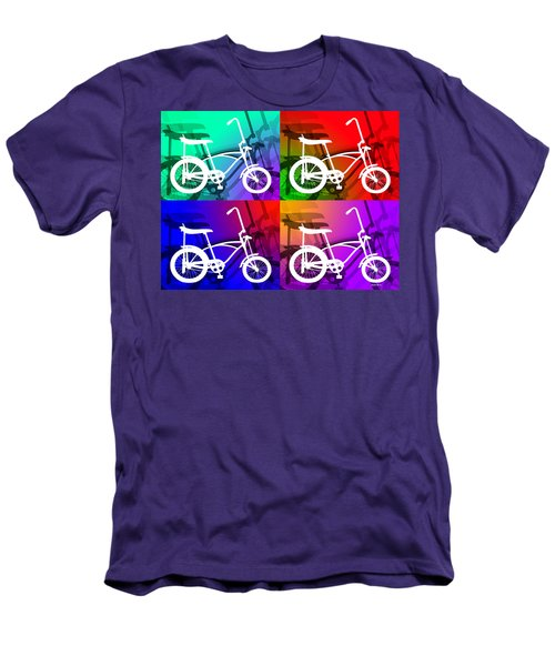 Men's T-Shirt (Slim Fit) featuring the digital art Schwinn Sting-ray by Stephen Younts