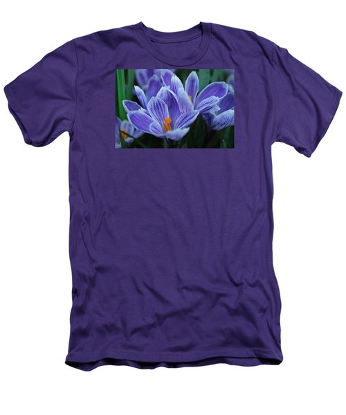 Spring Crocus Men's T-Shirt (Athletic Fit)