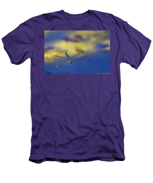 Men's T-Shirt (Slim Fit) featuring the photograph Stealth Chopper by Gary Holmes
