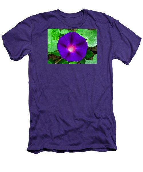 Tall Morning Glory Men's T-Shirt (Slim Fit)