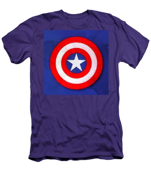 The Captain's Shield Men's T-Shirt (Athletic Fit)