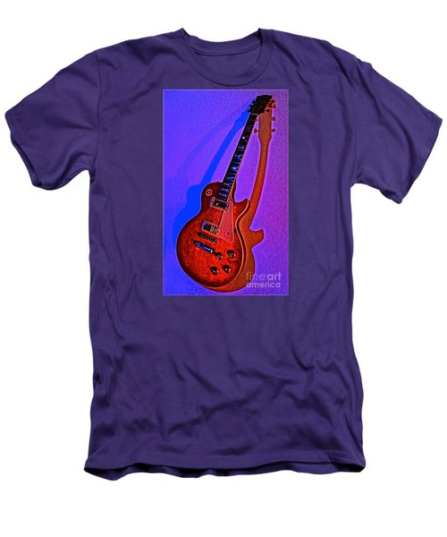 The Guitar After Party Men's T-Shirt (Slim Fit) by Gem S Visionary