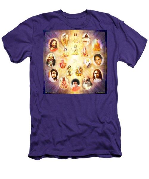 The Guru Tattva Men's T-Shirt (Slim Fit) by Ananda Vdovic