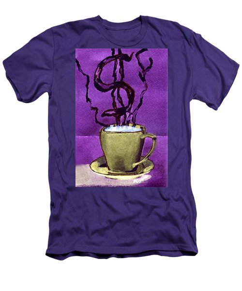 The Midas Cup Men's T-Shirt (Slim Fit) by Paula Ayers
