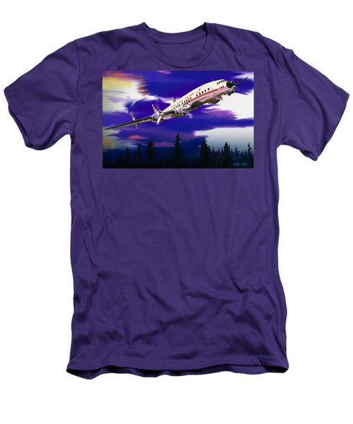The Queen Of The Fleet Leaving Seattle Men's T-Shirt (Slim Fit) by J Griff Griffin