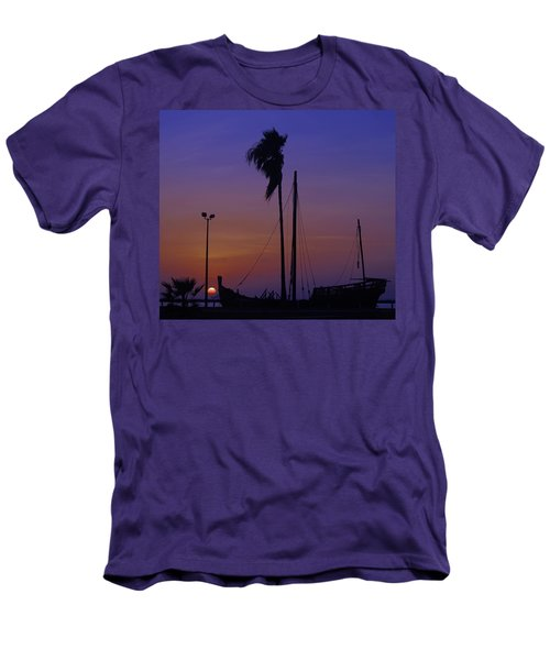 Men's T-Shirt (Slim Fit) featuring the photograph The Ship by Leticia Latocki