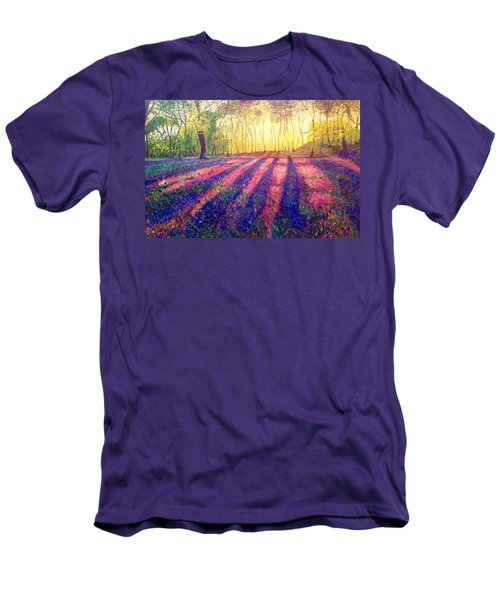 Men's T-Shirt (Slim Fit) featuring the painting Through The Light by Belinda Low