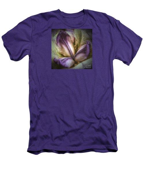 Men's T-Shirt (Slim Fit) featuring the photograph Trinity by Jean OKeeffe Macro Abundance Art