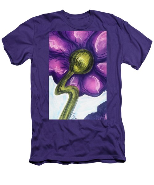 Men's T-Shirt (Slim Fit) featuring the pastel Up by Susan Will
