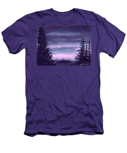 Whispering Pines Men's T-Shirt (Athletic Fit)