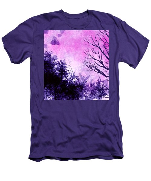 Men's T-Shirt (Slim Fit) featuring the painting Winter Dreams  by Persephone Artworks