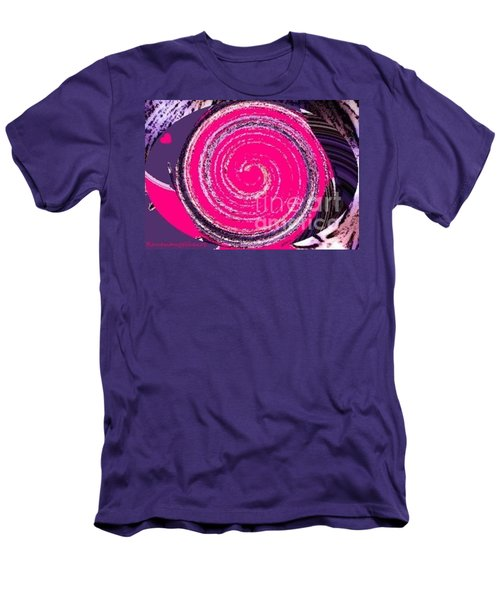 Men's T-Shirt (Slim Fit) featuring the digital art Work Of Art by Catherine Lott