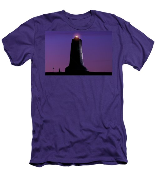 Men's T-Shirt (Slim Fit) featuring the photograph Wright Brothers Memorial by Greg Reed