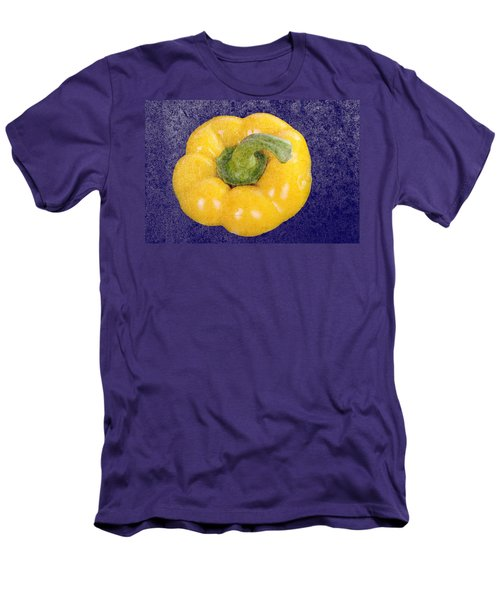 Men's T-Shirt (Slim Fit) featuring the photograph Yellow Bell Pepper by Vizual Studio