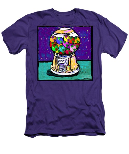 A World Of Gumballs Men's T-Shirt (Athletic Fit)
