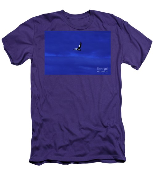 Men's T-Shirt (Slim Fit) featuring the photograph Into The Blue by Blair Stuart