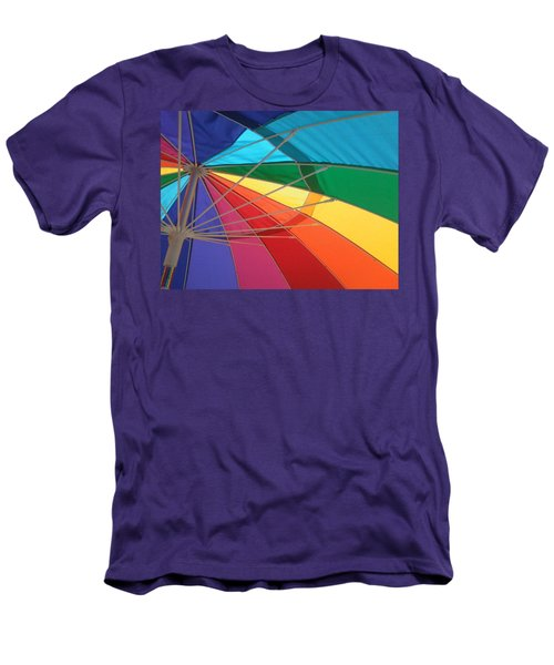Men's T-Shirt (Slim Fit) featuring the photograph It's A Rainbow by David Pantuso