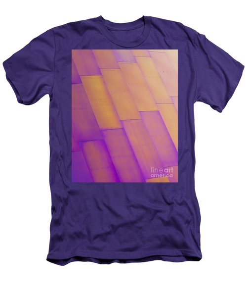 Purple Orange I Men's T-Shirt (Slim Fit) by Chris Dutton