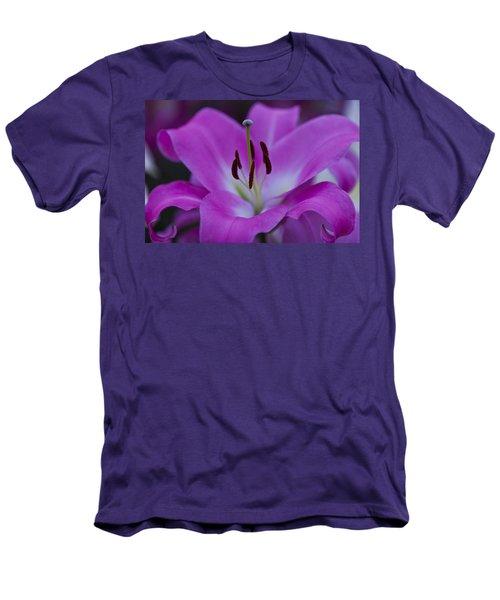 Soft Purple Men's T-Shirt (Slim Fit) by Maj Seda