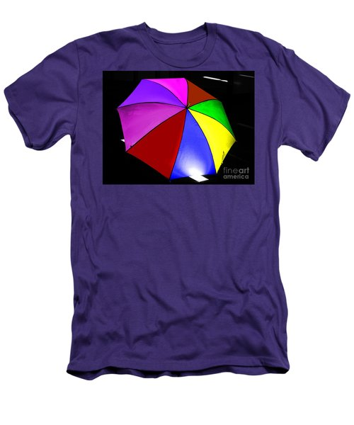 Men's T-Shirt (Slim Fit) featuring the photograph Umbrella by Blair Stuart