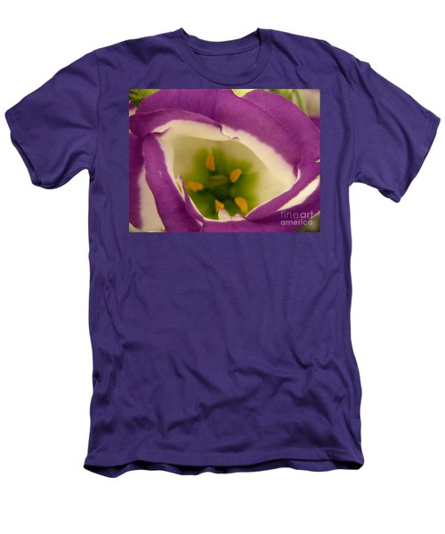 Men's T-Shirt (Slim Fit) featuring the photograph Vibrant by Lainie Wrightson