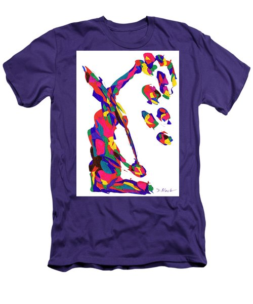 Definism Grind Men's T-Shirt (Slim Fit) by Darrell Black