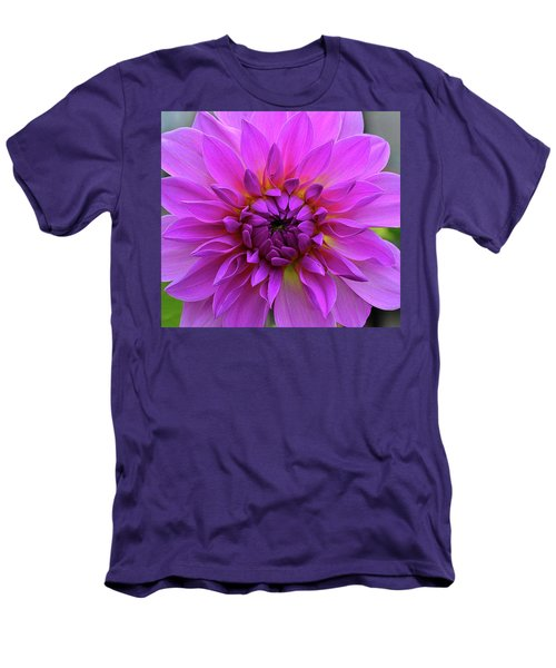 Dahlia Men's T-Shirt (Slim Fit) by Ronda Ryan