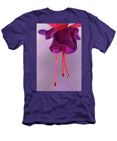 Dance Of The Fuschia Men's T-Shirt (Athletic Fit)