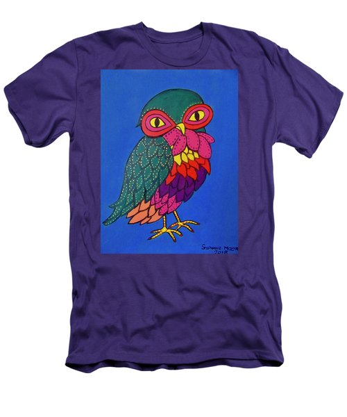 Owl Men's T-Shirt (Slim Fit)