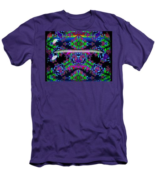 Men's T-Shirt (Slim Fit) featuring the digital art Secret Garden by Robert Orinski