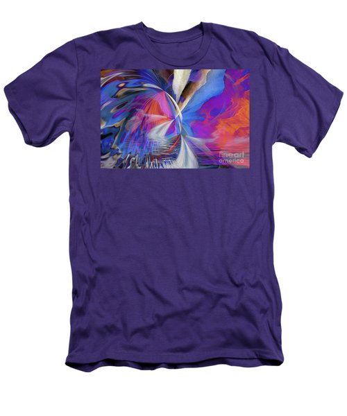 Men's T-Shirt (Athletic Fit) featuring the digital art Transition 2016 by Margie Chapman