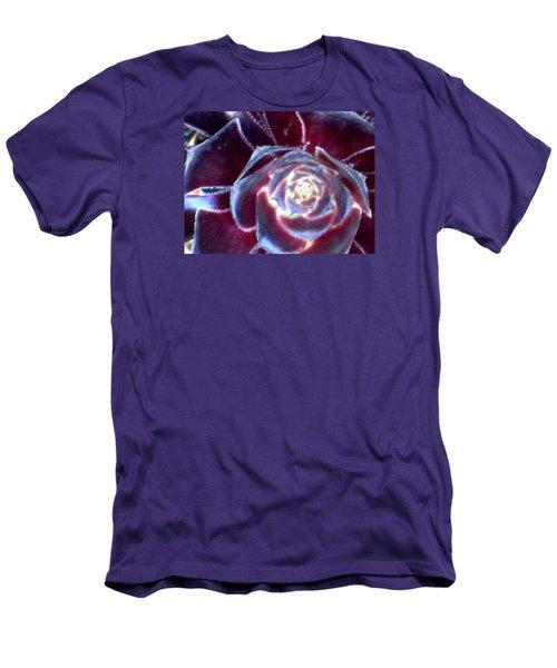 Velvet Rosette Men's T-Shirt (Slim Fit) by Vivien Rhyan