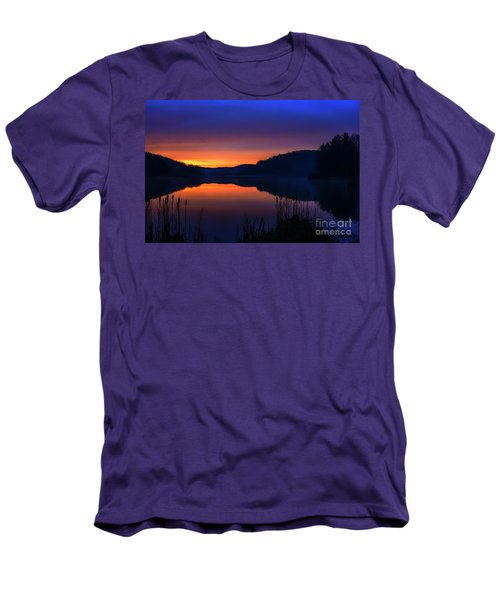 Men's T-Shirt (Slim Fit) featuring the photograph Winter Dawn by Thomas R Fletcher
