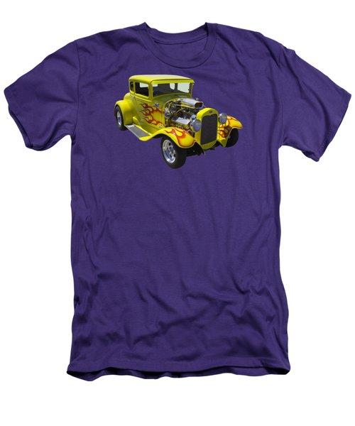 1930 Model A Custom Hot Rod Men's T-Shirt (Athletic Fit)