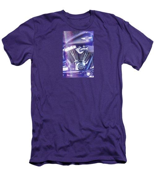 2012 Harley Davidson Fat Boy Men's T-Shirt (Slim Fit) by George Robinson
