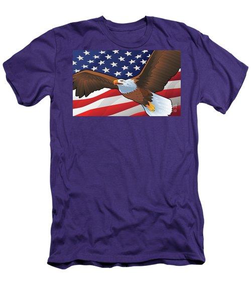 30x18-holidaycrab-mat-rvs Men's T-Shirt (Athletic Fit)