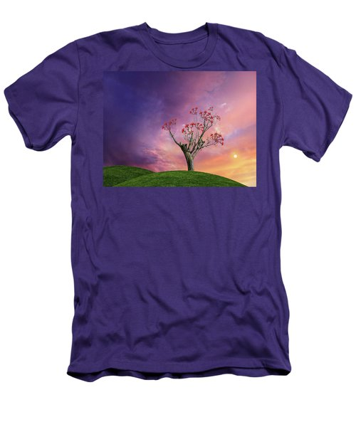 Men's T-Shirt (Athletic Fit) featuring the photograph 4451 by Peter Holme III