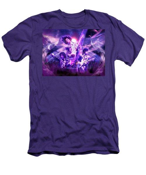 A Prince For The Heavens  Men's T-Shirt (Slim Fit) by Glenn C Feron