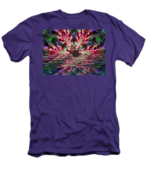 Abstract 93016.1 Men's T-Shirt (Athletic Fit)