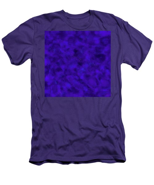 Men's T-Shirt (Athletic Fit) featuring the photograph Abstract Purple 7 by Clare Bambers