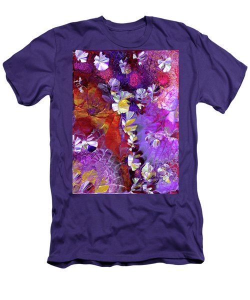 African Violet Awake #5 Men's T-Shirt (Athletic Fit)