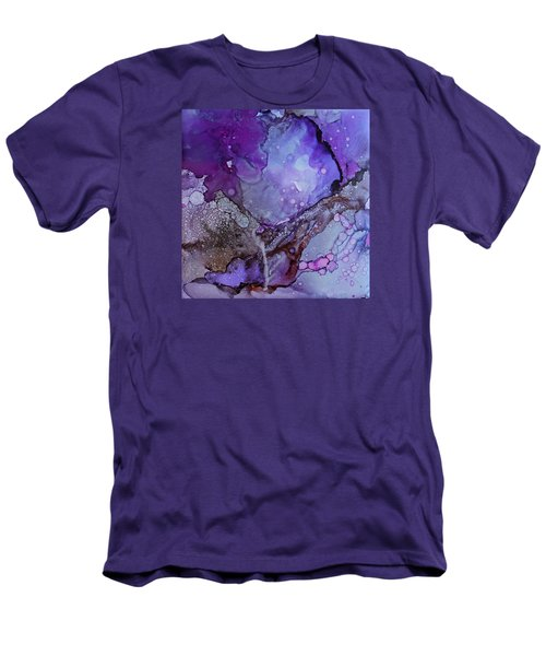 Agate Men's T-Shirt (Slim Fit) by Ruth Kamenev