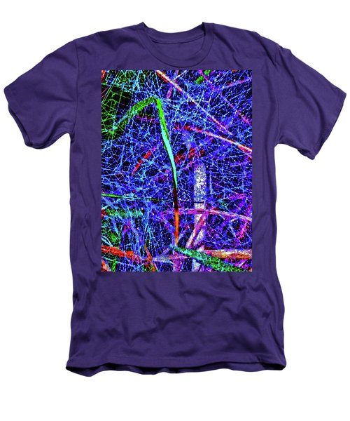 Amazing Invisible Web Men's T-Shirt (Slim Fit) by Gina O'Brien