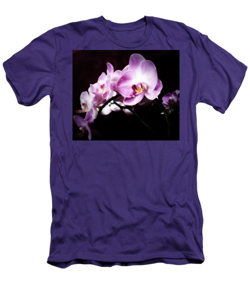 An Orchid For You Men's T-Shirt (Slim Fit) by Gabriella Weninger - David