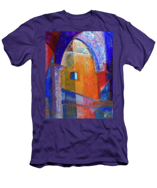 Arches And Window Men's T-Shirt (Slim Fit) by Walter Fahmy